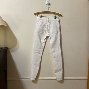 Express Jeans - Express White Skinny Jeans